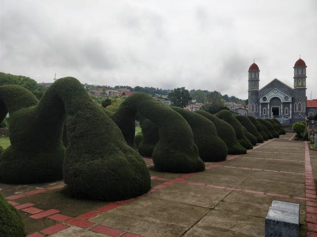 Parque Central de Zarcero, Alajuela, Costa Rica